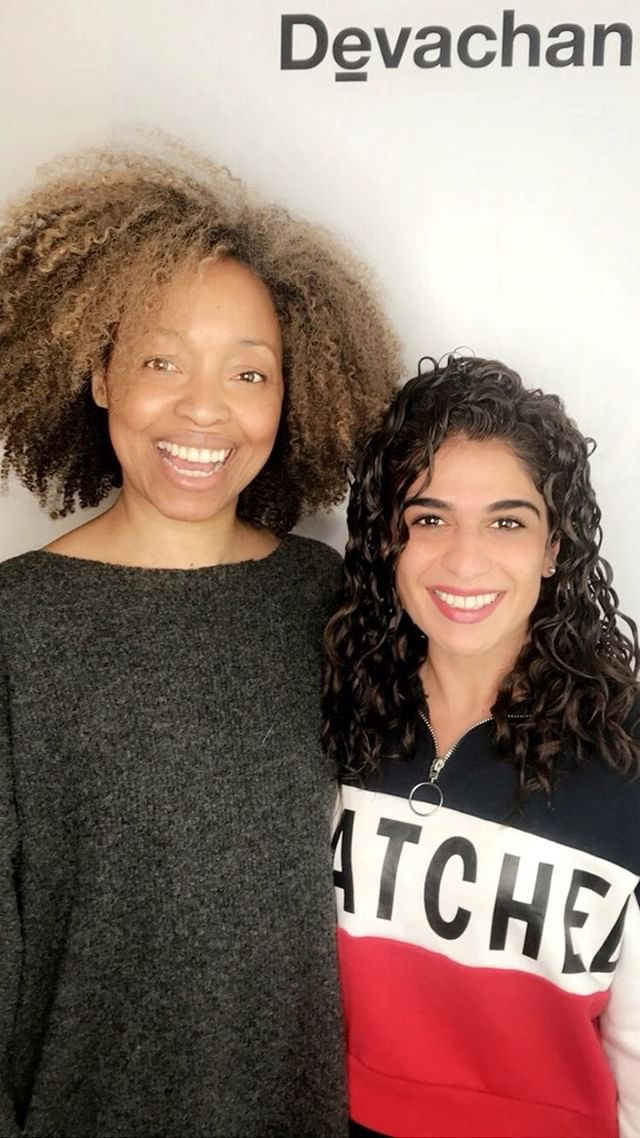 Komal Malik with Vida, Senior Devacurl Stylist