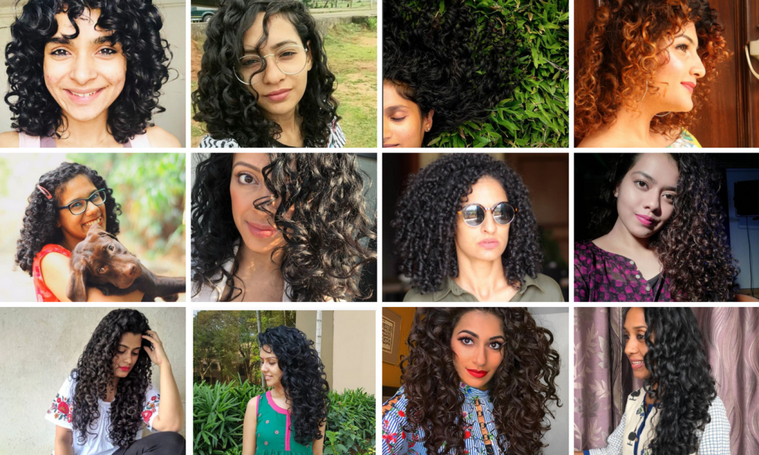 Brown curly hair bloggers