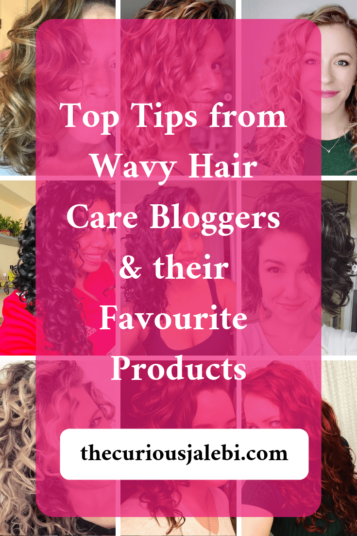 wavy hair care bloggers pinterest post