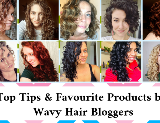 wavy hair care bloggers tips