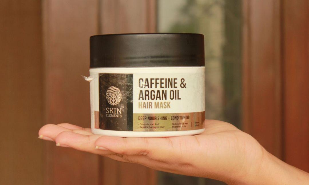 Skin Elements Caffeine & Argan Hairfall Control Hair Mask Product Shot