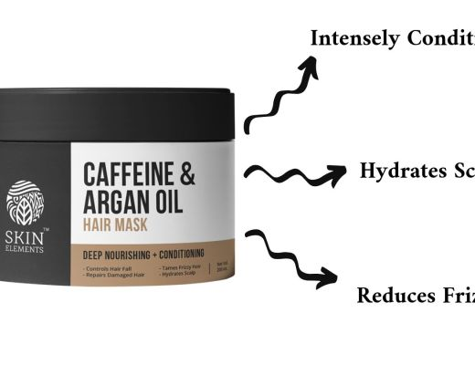 Skin Elements Caffeine & Argan Hairfall Control Hair Mask Product Image