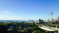 We happened upon this perspective of Auckland on our way to the Ponsonby neighborhood.