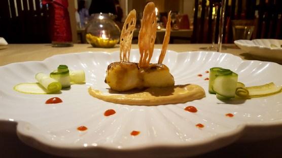 Baked Sea Bass with Yuzu Miso Tian, Asian Kitchen Studio, ITC Maurya, New Delhi