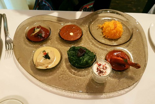 The Song of India, non-vegetarian thali, Singapore