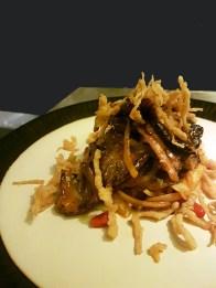 Sliced tenderloin With Mongolian Sauce, Jia, Mumbai