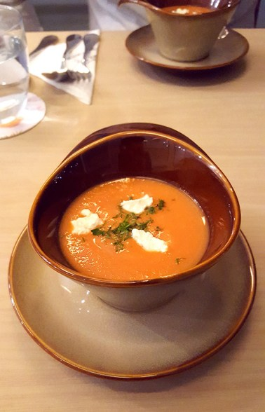 Gazpacho Soup, Poetry by Love and Cheesecake