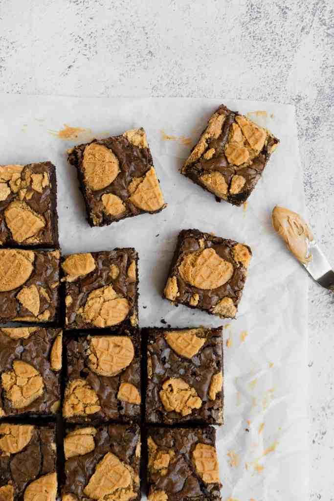 nutter butter brownie recipe