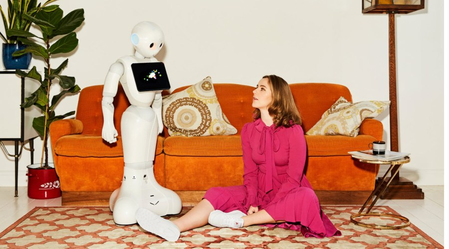 Pepper robot companion fashion