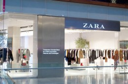 Zara's new tech-enabled pop-up store