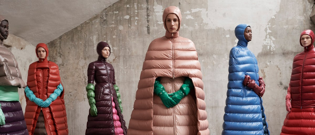 Moncler Pierpaolo Piccioli AW18 collection milan fashion week