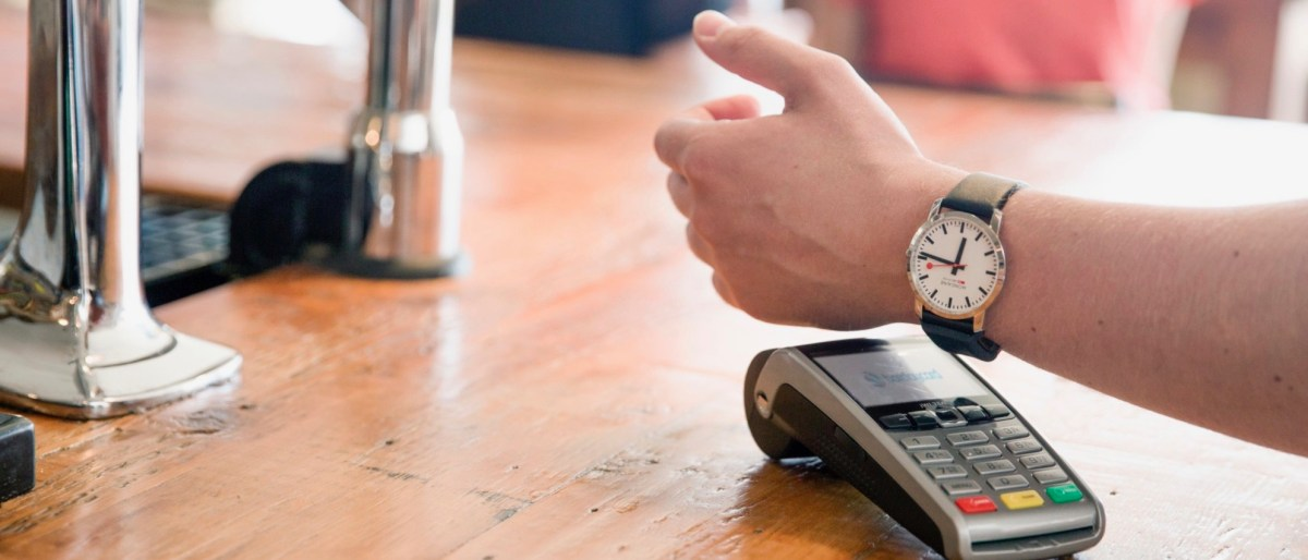 bPay contactless payment technology