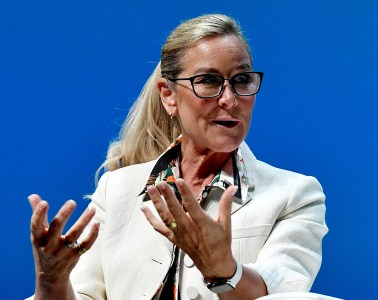 Angela Ahrendts of Apple at Cannes Lions