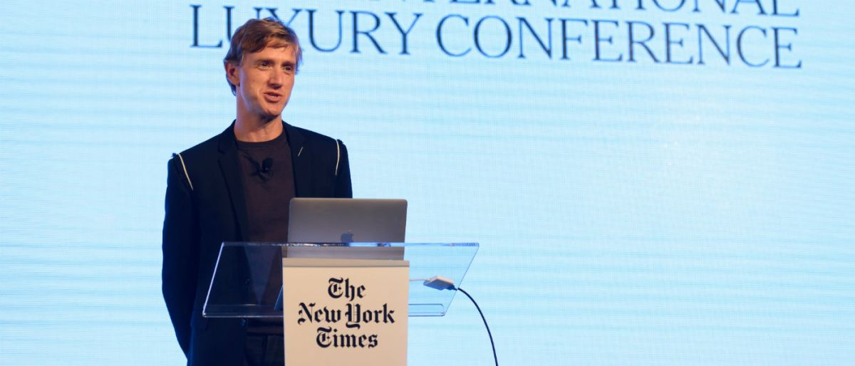 Ian Rogers at the New York Times International Luxury Conference