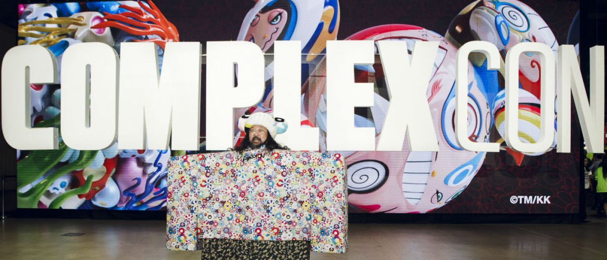 outlet store 45940 4d227 Takashi Murakami at ComplexCon