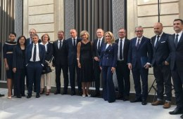 Industry leaders sign the Fashion Pact at the G7 Summit