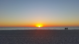 sunset Anna Maria Island Holmes Beach Florida Suncoast SWFL 2016-11-22 TheCurrentFashion.com