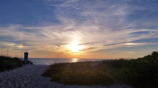 sunset beach Longboat Key Sarasota Florida
