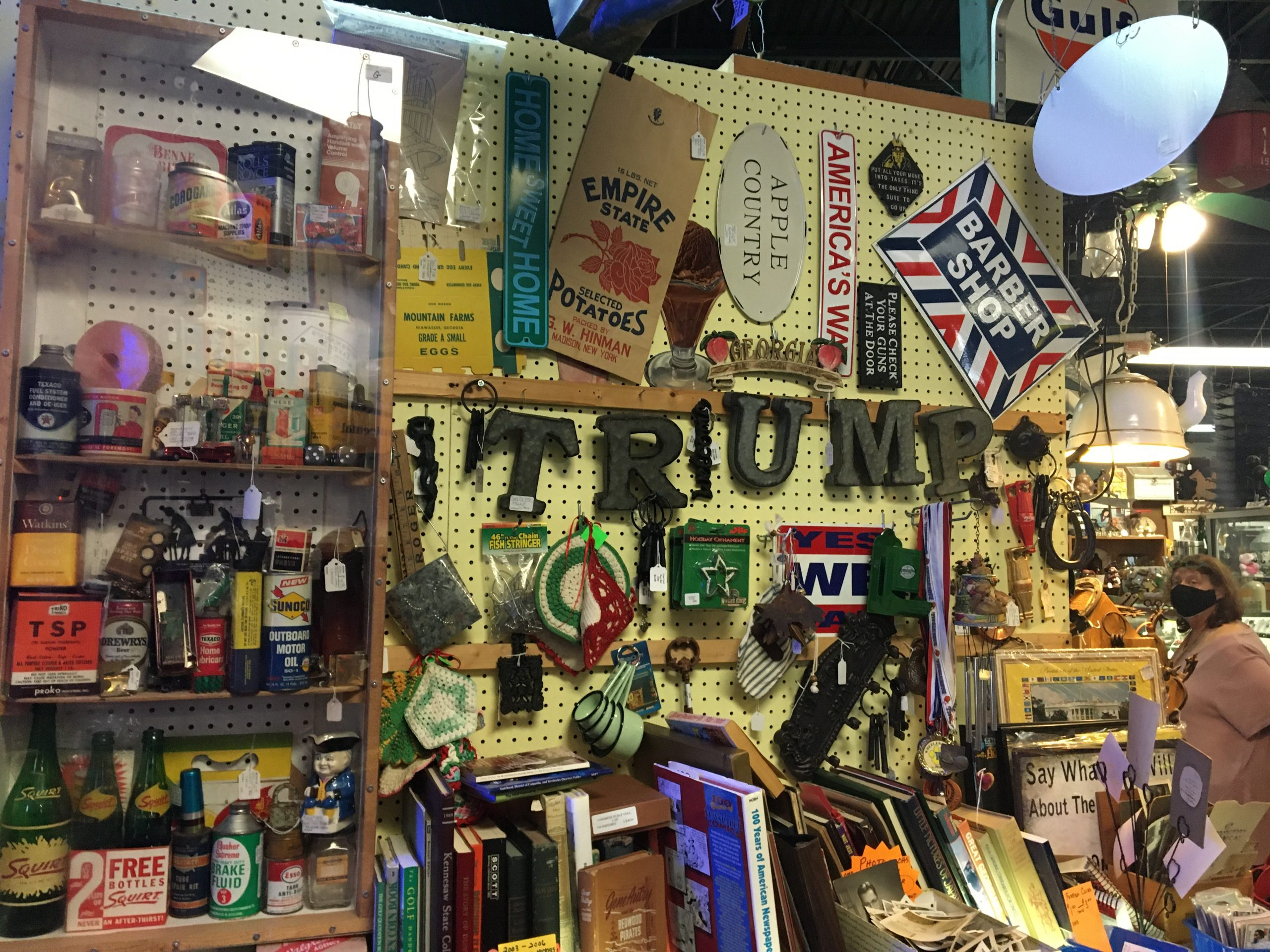 Trump unofficial signage in Ellijay, GA
