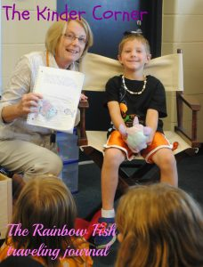 The Rainbow Fish from The Kinder Corner