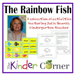 The Rainbow Fish Unit of Study by The Kinder Corner