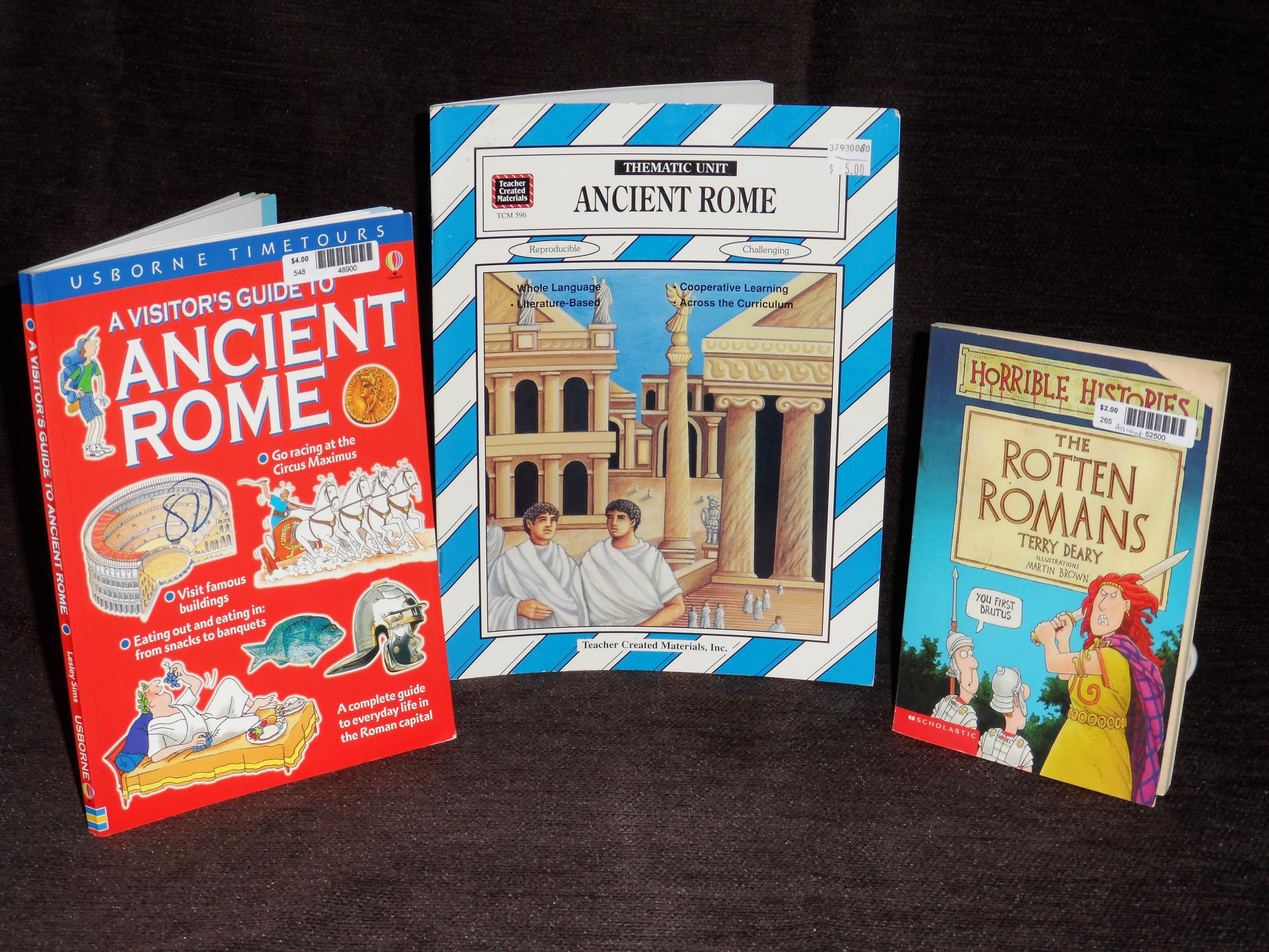 Ancient Rome Unit Stu S