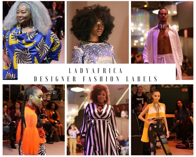 LADY AFRICA DESIGNER FASHION LABELS
