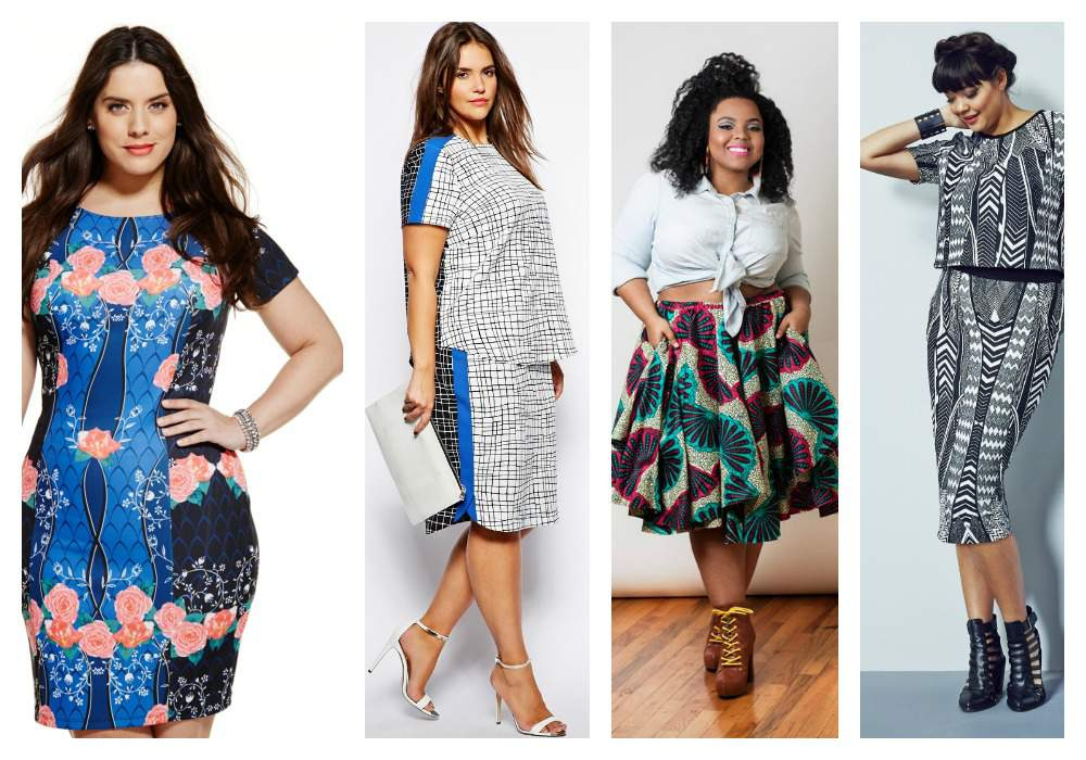 Pattern Trends- The 2014 Plus Size Spring Trends Report on The Curvy Fashionista