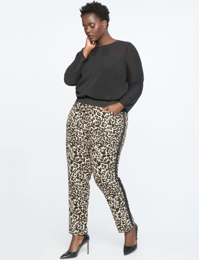 Love a Plus Size Leopard Print, then Check These Out- Leopard Kady Pant
