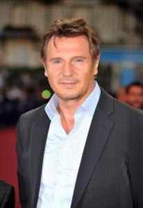 Neeson at the Deauville premiere of 'Taken 2'