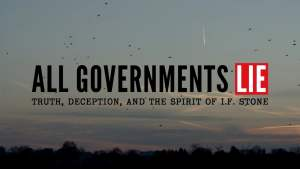 all governments lie poster