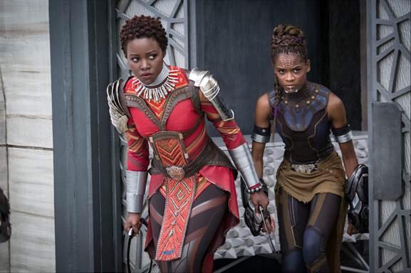 Black Joy and Power Present at Black Panther Press Junket