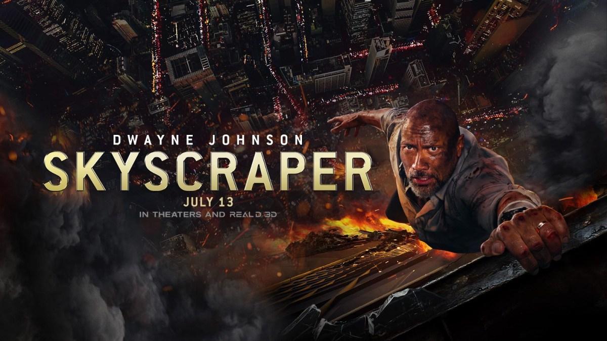 Dwayne Johnson Disabled Hero in Skyscraper