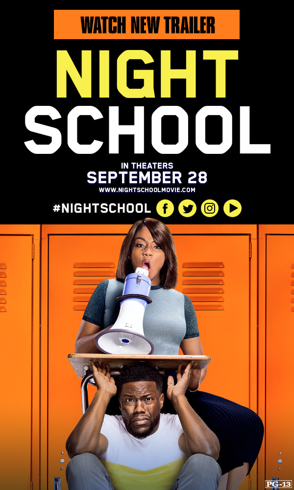 Night School is a Riot with Tiffany Haddish and Kevin Hart