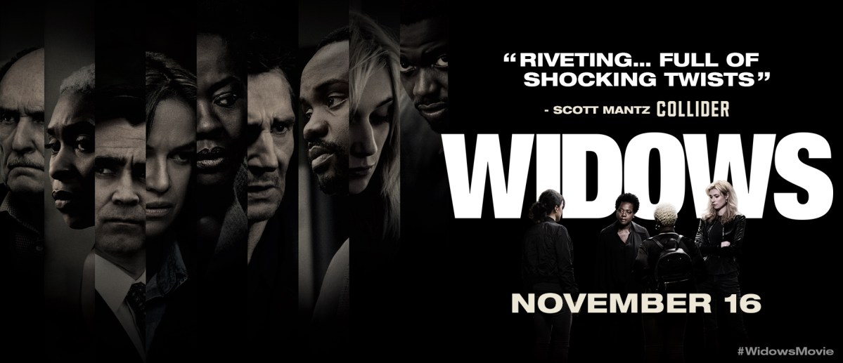 Widows is an Action Adrenaline Shot Heist Flick Starring Viola Davis