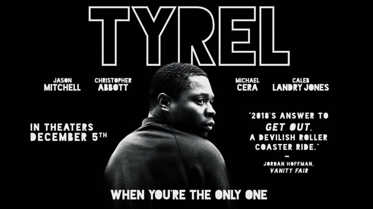 Jason Mitchell Gets Spooked in TYREL