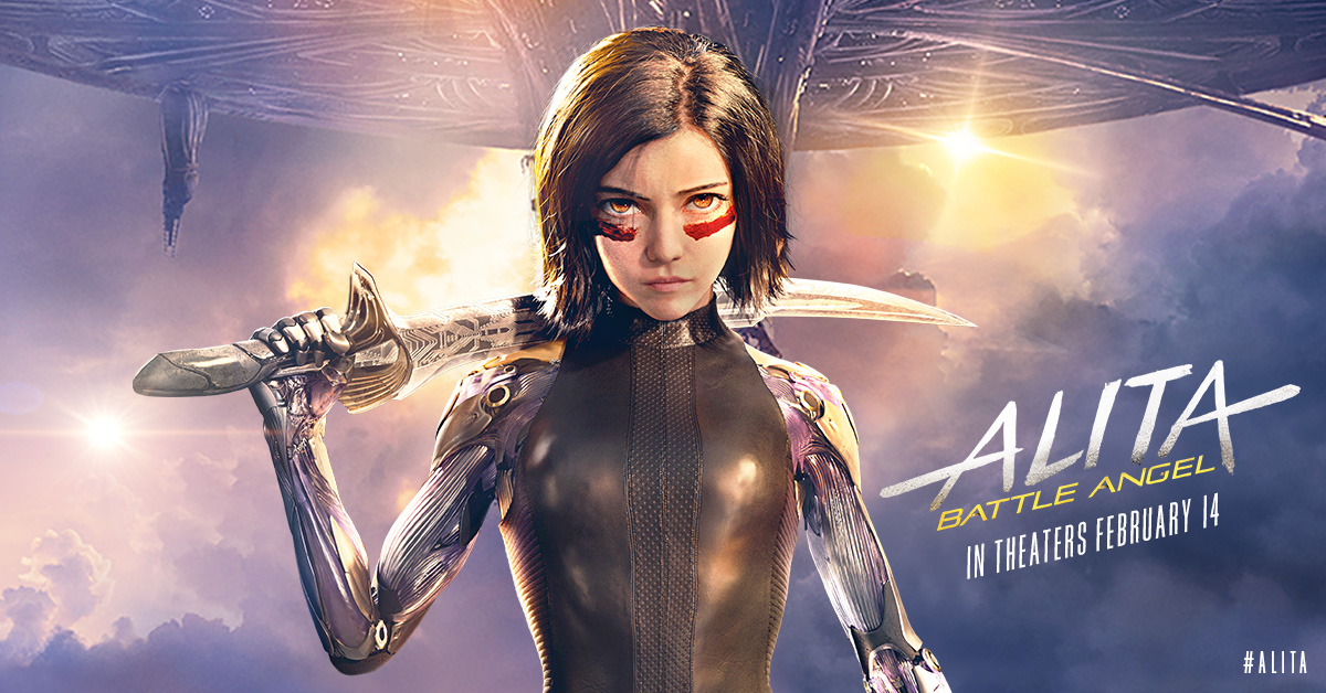 Anime Fans will Cheer for Alita Battle Angel