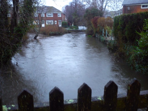 Romsey War Memorial Park - Flooded River Test
