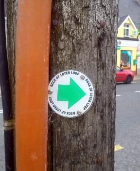 Hidden marker arrow