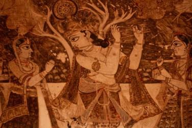 Krishna, Laxmi Narayan Temple, Orchha, Madhya Pradesh