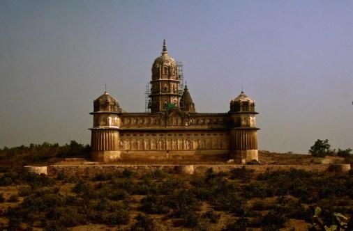 View of the Laxmi Narayan Temple, Orchha, Madhya Pradesh