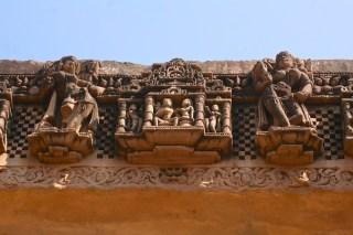 Sculpture Details, Chaukhamba, Gyaraspur