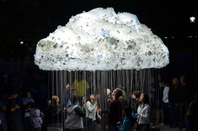 Cloud That Lights Up