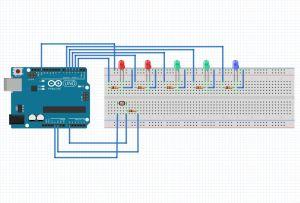 Arduino LDRPhotoresistor and LED Based Light Meter  The Customize Windows