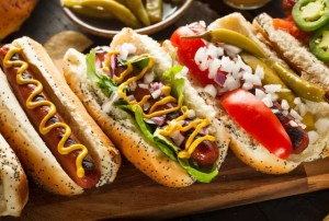 Gourmet Grilled All Beef Hots Dogs