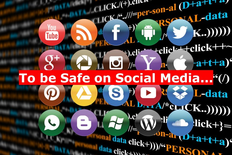 This may be the best article about How to keep your data safe on Social Media.
