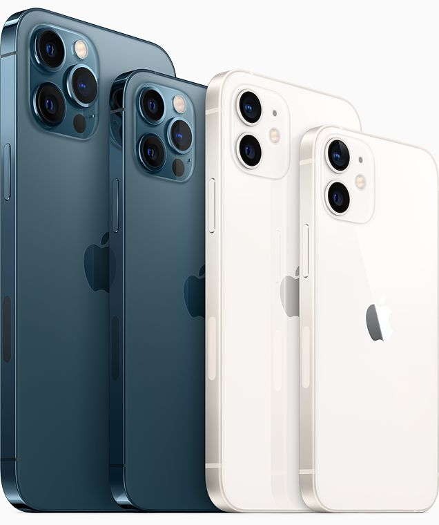 Variants of Apple iPhone 12 family