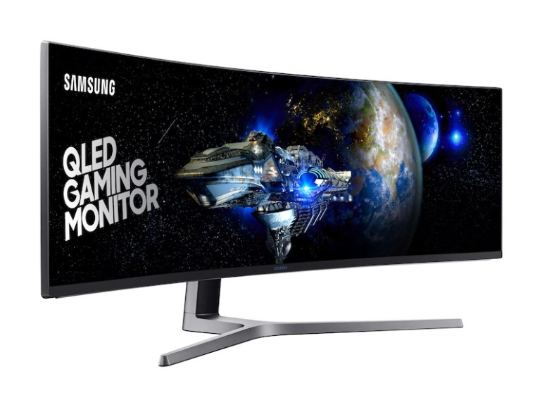 """Samsung 49"""" CHG90 Curved Computer Monitor - High-Resolution (Gaming)"""