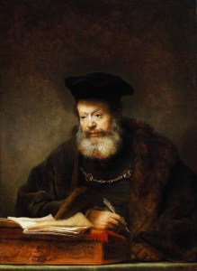 Rembrandt_Scholar_at_the_Lectern