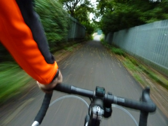 Luton to Harpenden cycle path is fast!